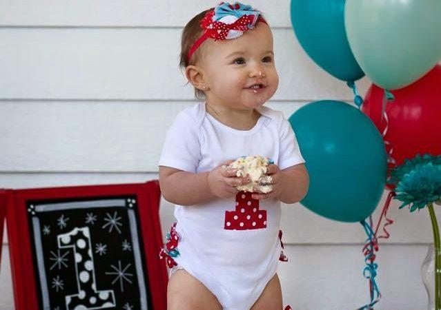 Celebrating Brinkley's First Birthday
