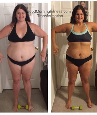Jordan Flowers Interview – this mama lost 35 pounds and 35 inches!