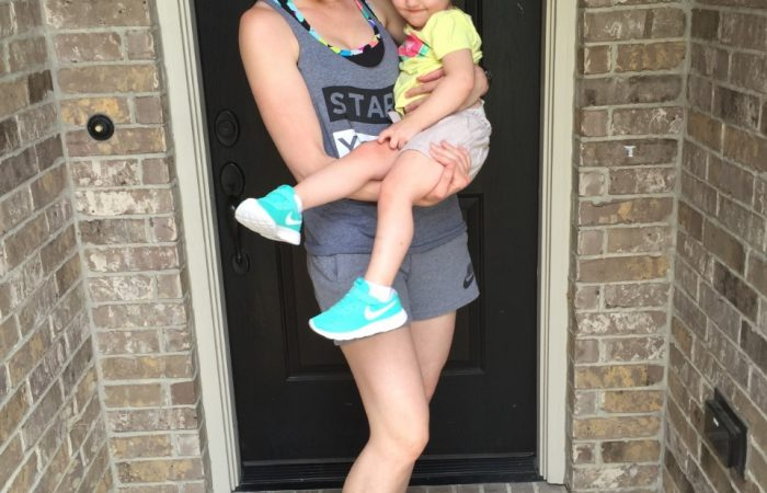 Matching Mommy and Baby Nike's