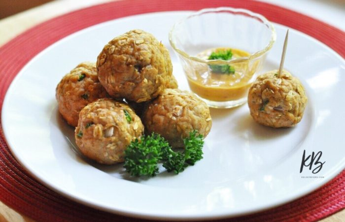 Lean Turkey Meatballs Recipe