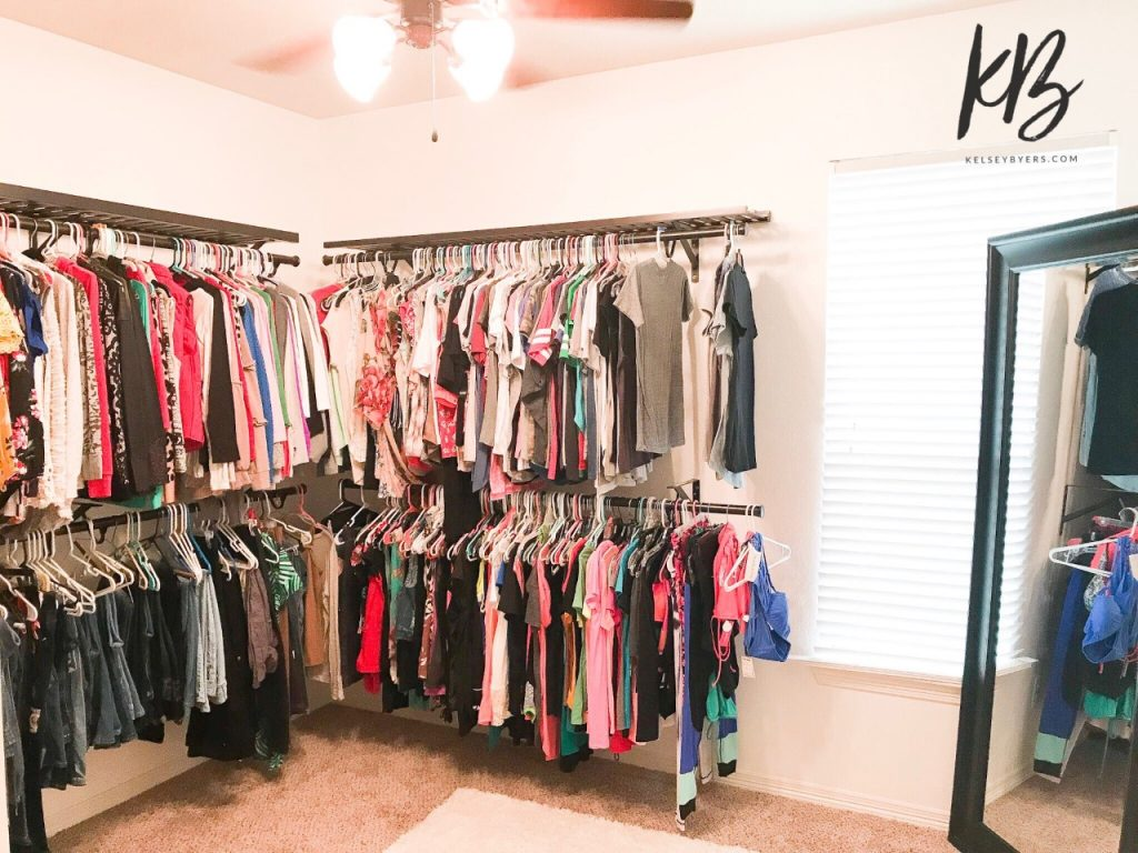 room closet, turn your spare room into a closet, closet transformation, dream closet, master closet