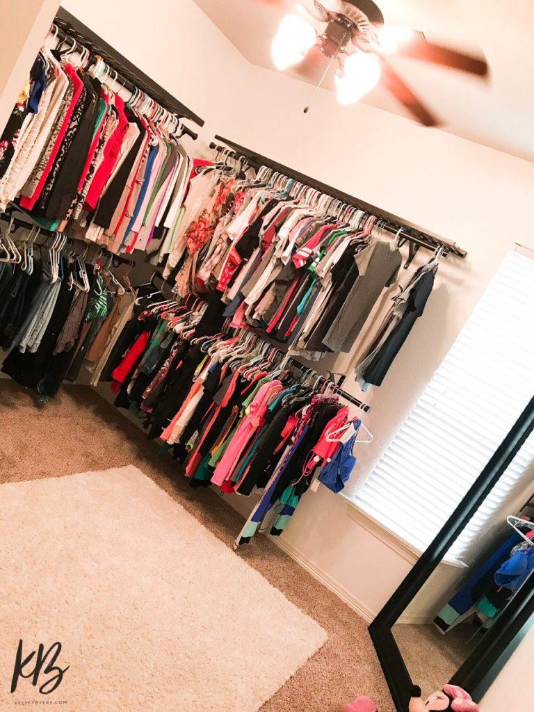 room closet, turn your spare room into a closet, closet transformation, dream closet, master closet