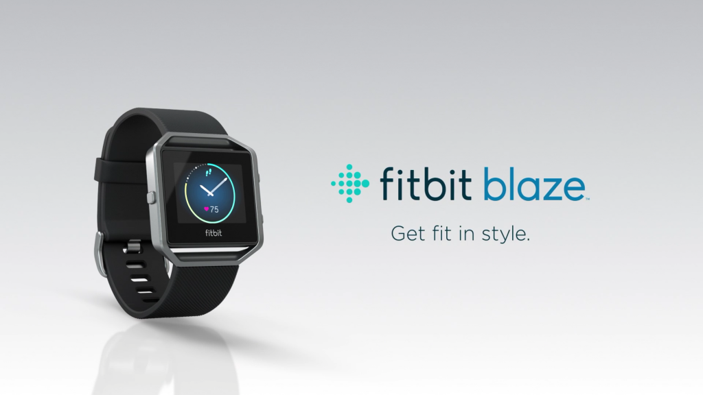 fitbit blaze heart rate monitor watch