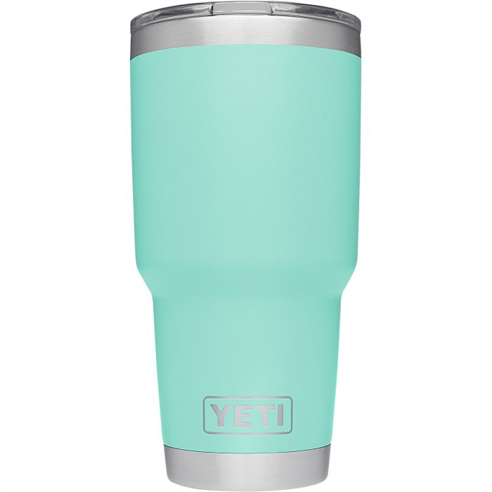 yeti sea foam green 30 oz cup