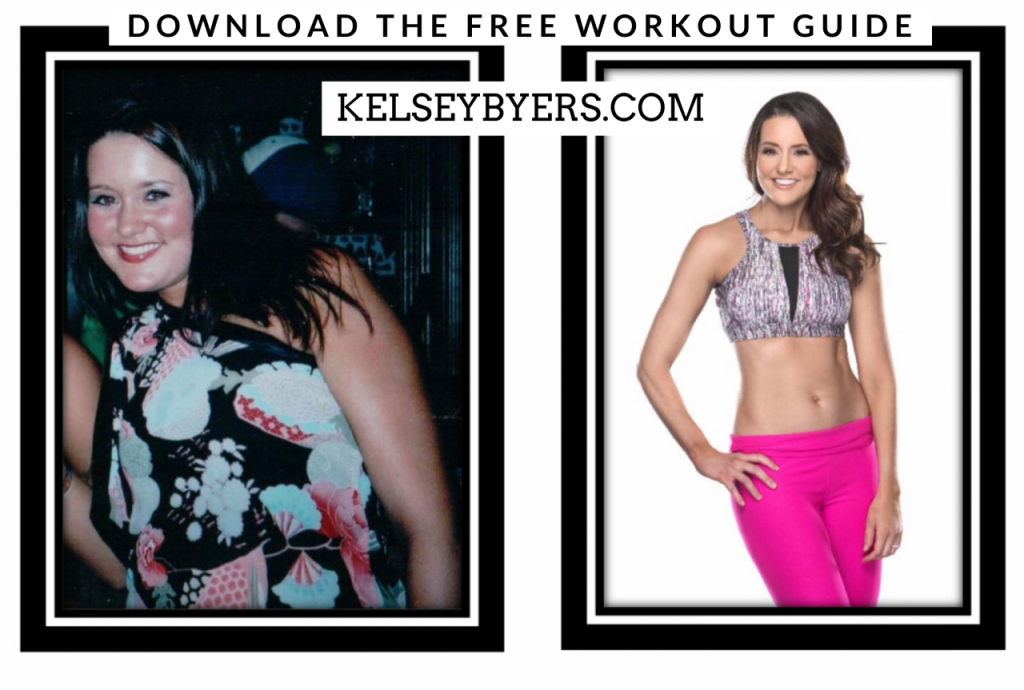 workout motivation, transformation, weight loss, success story, Kelsey byers, free workout plan