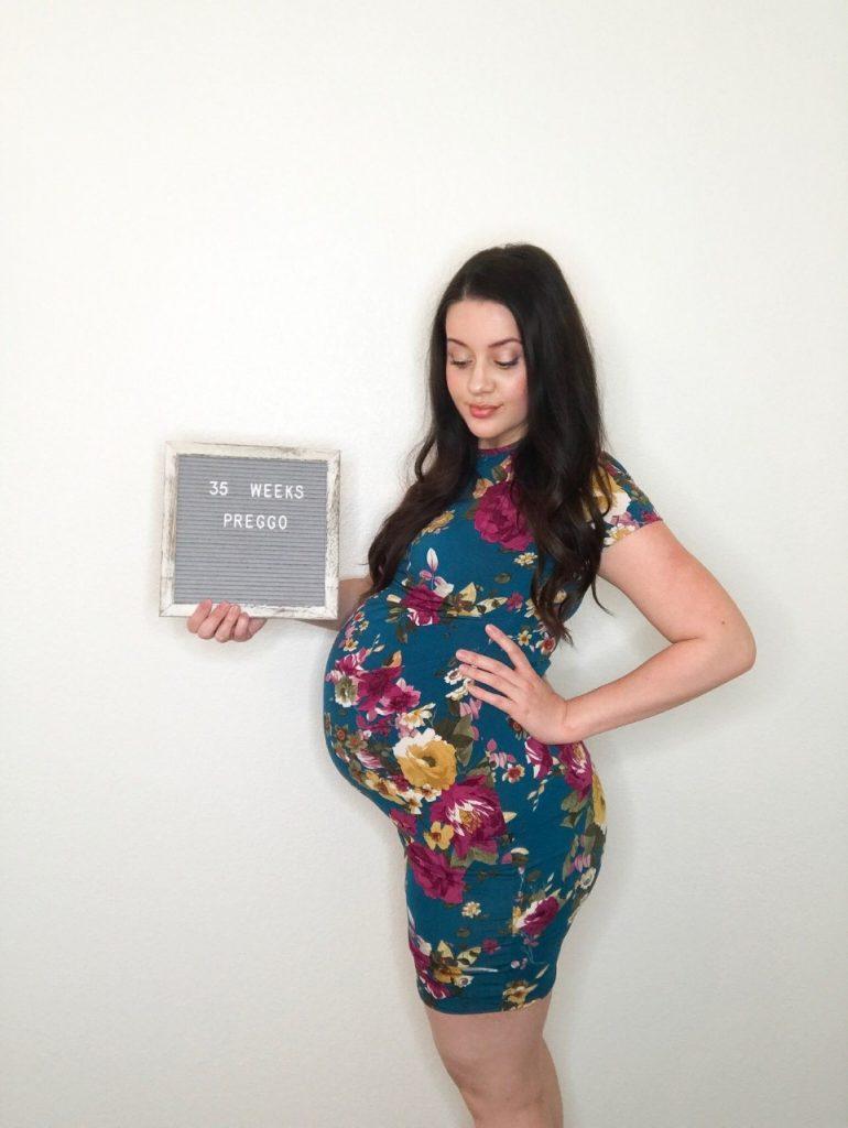 pregnancy, kelsey byers pregnancy, third trimester, preggo, blogger