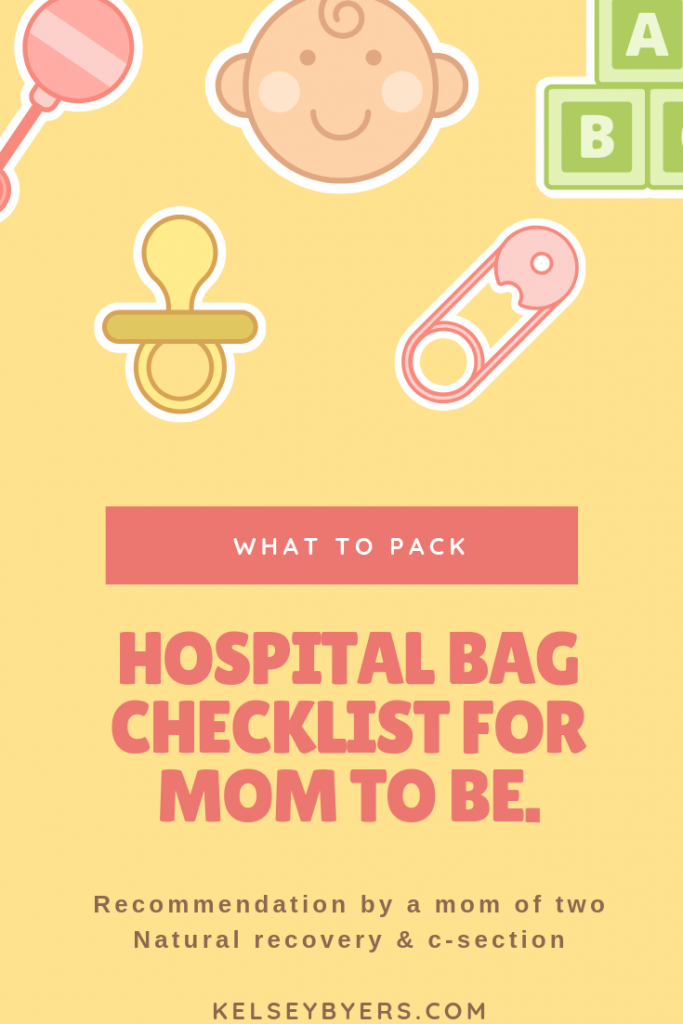 hospital bag for mom to be, pack hospital bag for labor